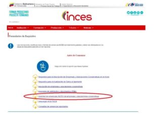 Solvencia Inces