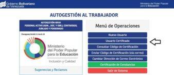 constancia de trabajo del ministerio de educación