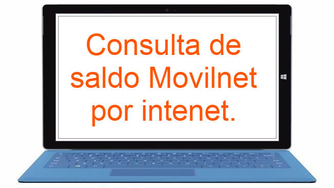 Consultar Saldo Movilnet Internet